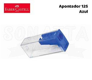 Apontador FABER-CASTELL com Depósito 125LVZF - Azul