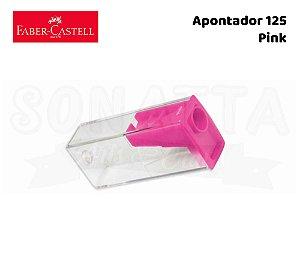 Apontador FABER-CASTELL com Depósito 125LVZF - Pink