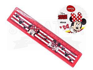 Régua Molin Disney Minnie 15 cm 22394 - Vermelho