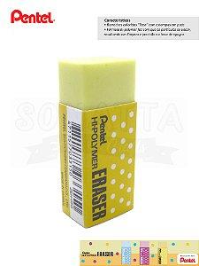 Borracha PENTEL Hi-Polymer Eraser Amarela – ZEH-05G
