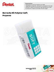 Borracha PENTEL Hi-Polymer Soft Pequena - ZES-05E