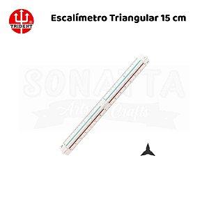 Mini Escalímetro Triangular TRIDENT 15cm - ME-15