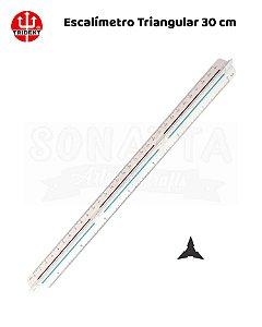 Escalímetro Triangular TRIDENT 30cm - 7830/1