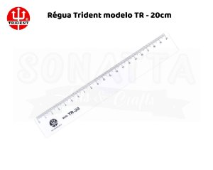 Régua TRIDENT 20 cm – TR20