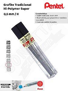Grafite/Mina PENTEL Hi-Polymer 0,5mm H – C505H
