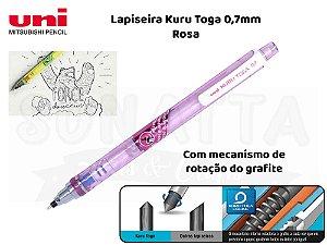 Lapiseira Uni-ball Kuru Toga 0,7mm Rosa  - M7-450T