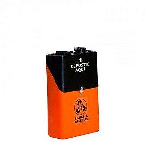 Coletor de Pilhas e Baterias Usadas - 50 Litros