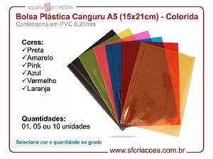 Bolsa Plastica Canguru A5 Colorida