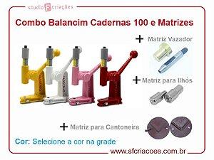 Balancim Cardenas 100 + Kit 3 Matrizes