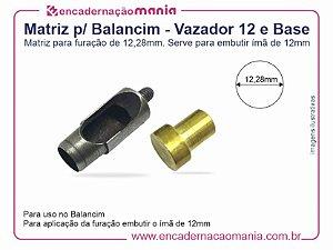 Matriz para Balancim - Vazador 12 e Base