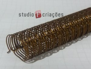 Wire-o 1 polegada - Bronze