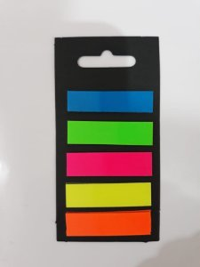 Post-it 5 cores - Marcador reposicionavel