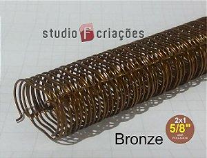 Wire-o 5/8 polegada - Bronze