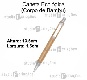 Caneta Ecologica (Bambu)