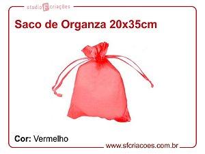 Saco Organza 20x35cm