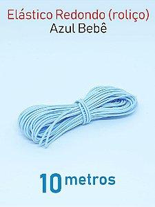 Elástico REDONDO AZUL BEBE (medida 10 metros)