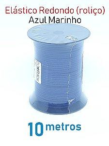 Elástico REDONDO AZUL MARINHO (medida 10 metros)