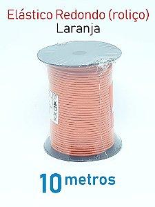 Elástico REDONDO LARANJA (medida 10 metros)