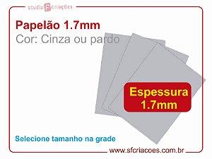 10 Pares de papelão 1.7mm - Selecione o formato