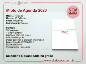 Miolos de agenda 2020 - SEM MAPA
