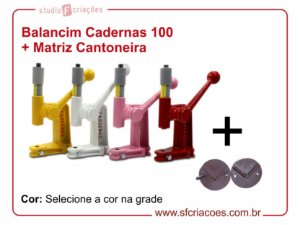 Balancim Cadernas 100 + Matriz para cantoneira