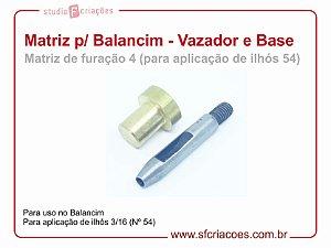 Matriz para Balancim - Vazador 4 e Base