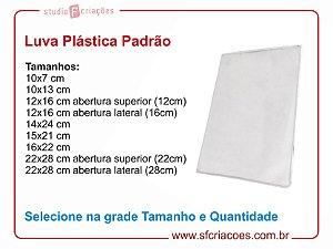 Luva Plástica - Selecione na grade tamanho e quantidade