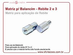 Matriz para Balancim - Aplicação de Rebite 2 e 3