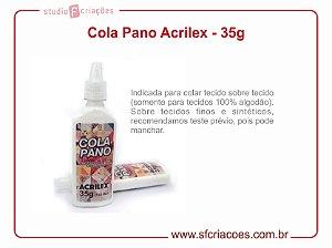 Cola Pano Acrilex - 35 gramas
