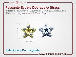 Passante Estrela com Strass
