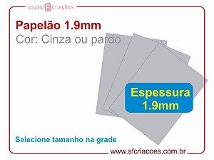 10 Pares de papelão 1.9mm - Selecione o formato
