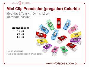 Mini Clip Prendedor Plástica para Artesanato
