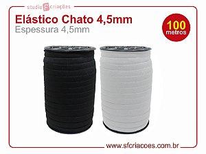 100 metros Elástico Chato - 4,5mm