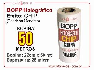 BOPP Holográfico CHIP (Pedrinha ou caquinho)