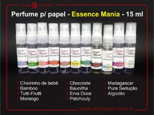 Perfume para papel - Essence Mania - 15 ml
