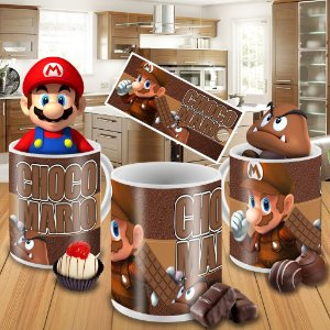 Caneca Mario Bros01