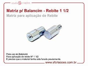 Matriz para Balancim - Aplicação de Rebite 1 1/2