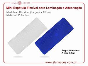 Mini Espátula Flexível para Laminação e Adesivação