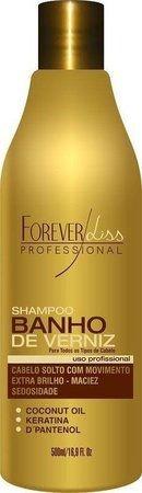 Shampoo Extra Brilho Banho de Verniz 500ml Forever Liss