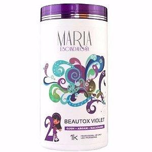 Maria Escandalosa Botox Matizador Violeta 1 Kilo