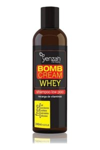 Shampoo Whey Bomb Cream 240ml Yenzah