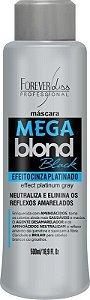 Máscara Matizadora Mega Blond Black 500ml - Forever Liss
