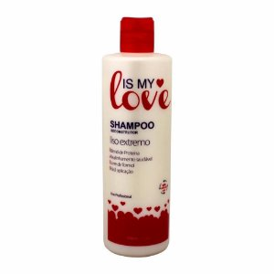 Shampoo Alisante Reconstrutor Liso Extremo 500ml - Is My Love