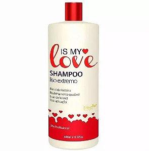 Shampoo Alisante Reconstrutor Liso Extremo 500ml - Is My Love