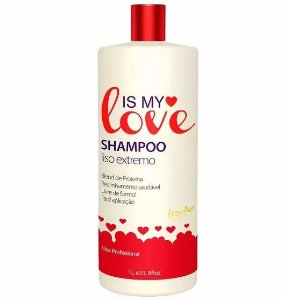 Shampoo Alisante Reconstrutor Liso Extremo 1000ml - Is My Love