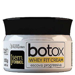 Escova Progressiva Sem Formol Botox Whey 130g Yenzah
