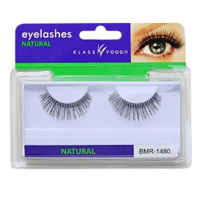 Klass Vough Eyelashes Natural Bmr 1480 Cílios Postiços