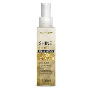 SPRAY DE BRILHO SHINE GOLD OURO 120ML - PLANCTON