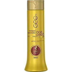 Shampoo Regenerador e Anti Stress Noz Pecã 300ml Haskell