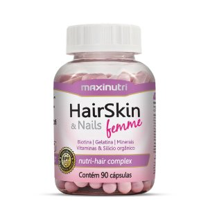HairSkin & Nails Femme 90 Cápsulas Da Beleza - Maxinutri